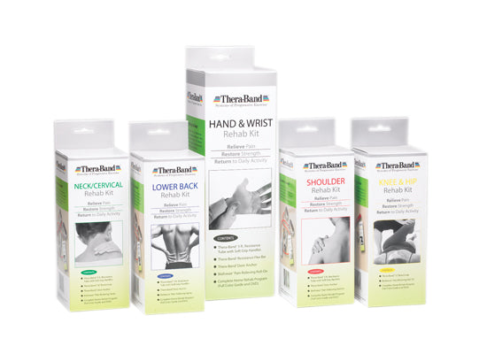 Thera-Band rehab kit, neck