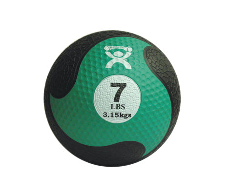CanDo® Firm Medicine Ball - 9 in. Diameter - Green - 7 lb.