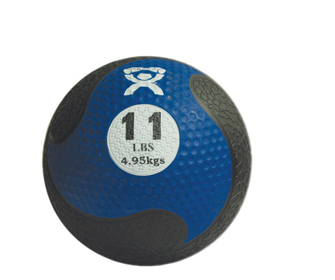 CanDo® Firm Medicine Ball - 9 in. Diameter - Blue - 11 lb.