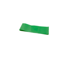 CanDo® Band Exercise Loop - 10 in. Long - Green - medium, 10 each