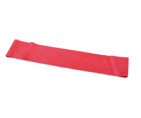 CanDo® Band Exercise Loop - 15 in. Long - Red - light, 10 each