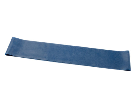 CanDo® Band Exercise Loop - 15 in. Long - blue - heavy, 10 each