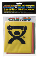 CanDoå¨-low-powder-exercise-band-pep-pack---easy-with-yellow-red-and-green-band
