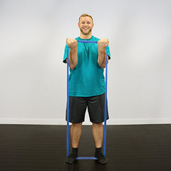 CanDo® Band Exercise Loop - 30 in. Long - blue - heavy