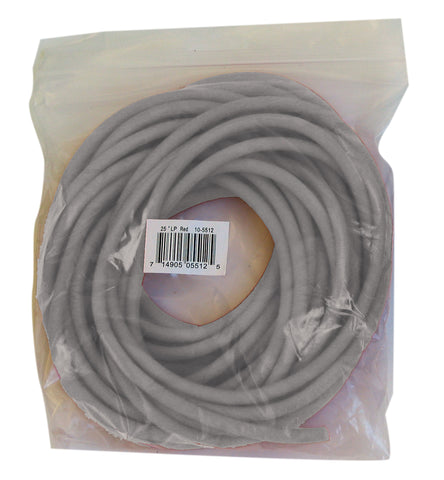 CanDo® Low Powder Exercise Tubing - 25 foot roll - Silver - xx-heavy