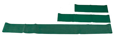 "CanDo® Band Exercise Loop - 3 Piece Set (10"", 15"", 30""), Green - medium"