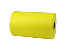CanDo® Sup-R Band Latex-Free Exercise Band - 25-Yard Roll - Yellow - x-light