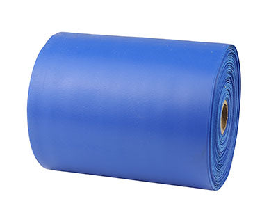 CanDo® Sup-R Band Latex-Free Exercise Band - 25-Yard Roll - Blue - heavy