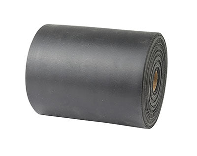 CanDo® Sup-R Band Latex-Free Exercise Band - 25-Yard Roll - Black - x-heavy