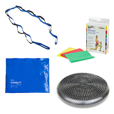 Home PT Kit, Ankle Sprain, Beginner