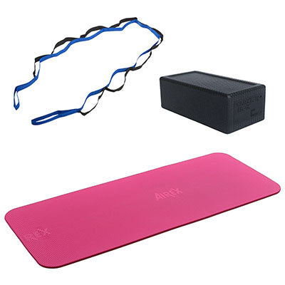 Home Yoga Package, Premium Pink