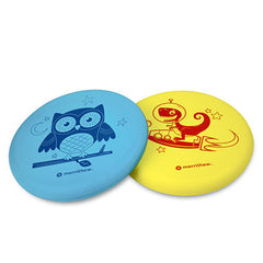 Merrithew, Flying Foam Disks, Blue and Yellow, Pack of 2