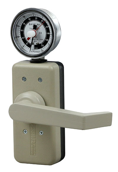 Baseline® Wrist Dynamometer - 500 lb. Capacity Dial Gauge & Analog Output Signal