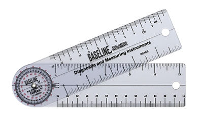 Baseline®-plastic-goniometer---rulongmeter-style---hires-360-degree-head---7-inch-arms