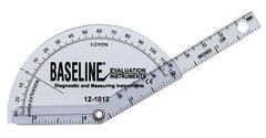 Baseline® Plastic Goniometer - Finger - Flexion to Hyper-Extension, 25-pack