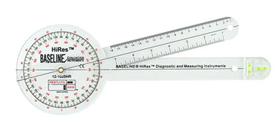 Baseline®-plastic-absolute-axis-goniometer---hires-360-degree-head---12-inch-arms