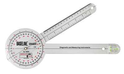 Baseline®-plastic-absolute-axis-goniometer---360-degree-head---12-inch-arms-25-pack