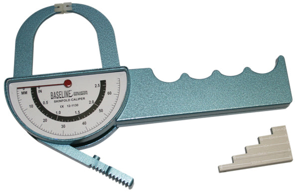 Baseline® Medical Skinfold Caliper - Deluxe Dual-sided Model