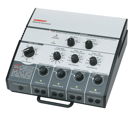 Amrexå¨ Stim - MS401B dual channel low volt AC Bi/Mono Phasic Stimulator