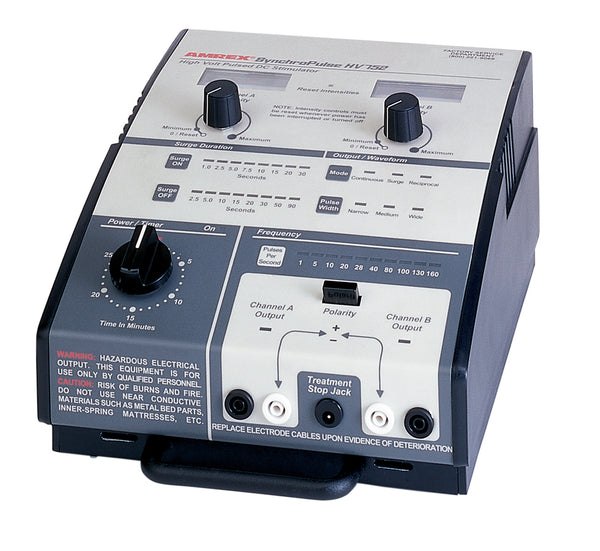Amrexå¨ Stim - HV/752 high volt pulsed DC dual channel muscle Stimulator