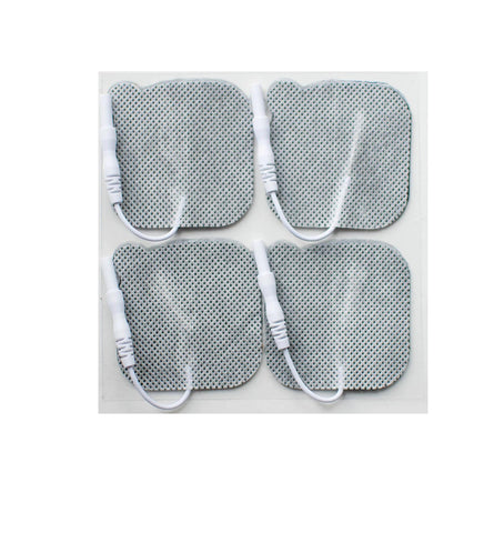 "Liberty Made® Electrodes - 2"" x 2"" Square Fabric Electrodes - Buy 50 Packs Get 5 Packs Free!"
