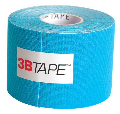 3B Tape, 2 in. x 16.5 ft, blue, latex-free