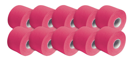 3B Tape, 2 in. x 16.5 ft, pink, latex-free, case of 10