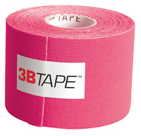 3B Tape, 2 in. x 16.5 ft, pink, latex-free