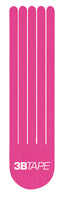 3B Tape, ProCut eyelash strips, pink, latex-free, package of 40