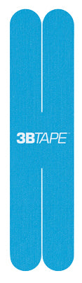 3B Tape, ProCut X strips, blue, latex-free, package of 40