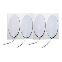 2 in. x 4 in. Oval - White Foam Top Electrodes Case of 10 (4/pk)