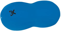 CanDo® Inflatable Exercise Saddle Roll - Blue - 32 in. H x 51 in. L
