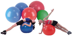 CanDo® Inflatable Exercise Ball - Sensi-Ball - Orange - 22 inch