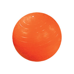 CanDo® Inflatable Exercise Ball - Orange - 22 inch