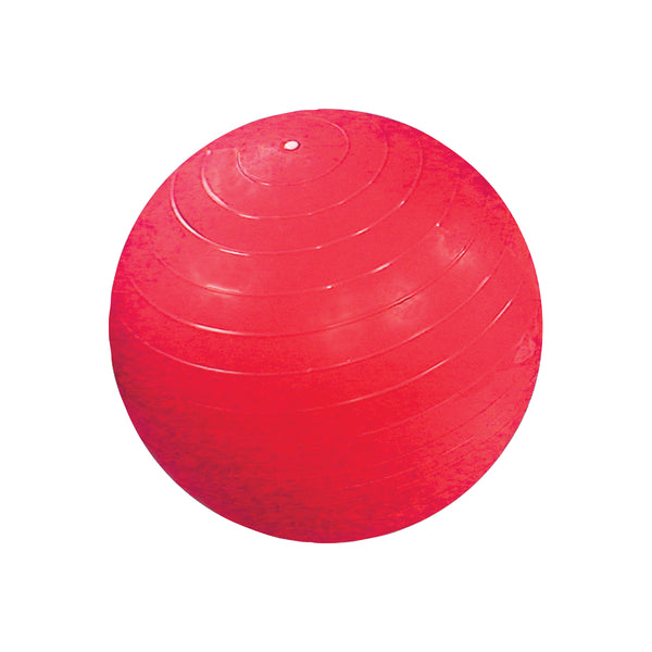 CanDo® Inflatable Exercise Ball - Red - 30 inch