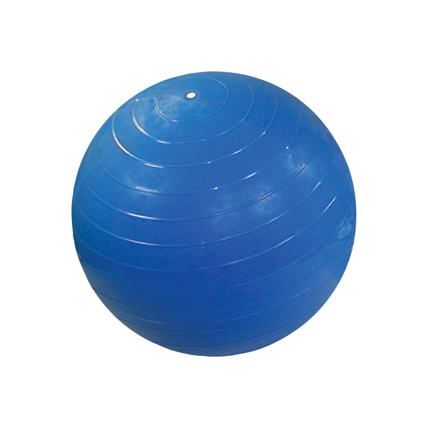 CanDo® Inflatable Exercise Ball - Blue - 34 inch