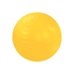 CanDo® Inflatable Exercise Ball - Yellow - 60 inch