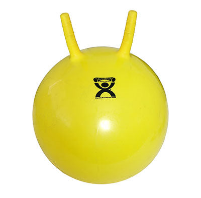 CanDo® Exercise Jump Ball - Yellow - 16 inch