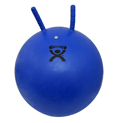 CanDo® Exercise Jump Ball - Blue - 22 inch