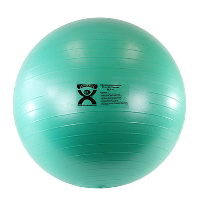 CanDo® Inflatable Exercise Ball - Deluxe ABS Ball - Green - 26 inch