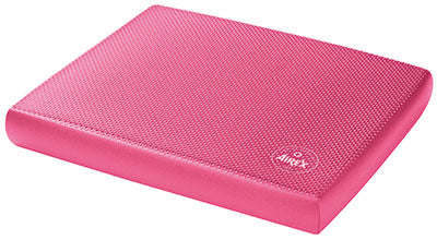 "Airex Balance Pad, Solid, 16"" x 18"" x 2"", pink"