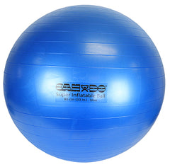 CanDo® Inflatable Exercise Ball - Super Thick - Blue - 34 inch