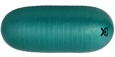 CanDo® Inflatable Roller - Green - 7 x 17 inch - Round