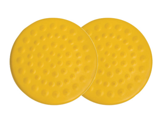 CanDo® Progressive Instability Pad - 20 inch diameter - Yellow - x-light instability, pair