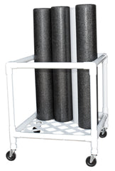CanDo® Foam Roller - Accessory - Upright Storage Rack - 24 in.W x 34 in.D x 30 in.H