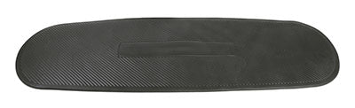 CanDo® Exercise Mat - 24 x 72 x 0.6 inch - Black, case of 10