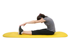 CanDo® Exercise Mat - 24 x 72 x 0.6 inch - Yellow, case of 10