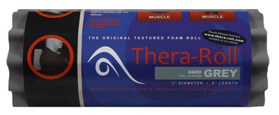 Thera-Roll® - 3x8 inch, x-firm, grey