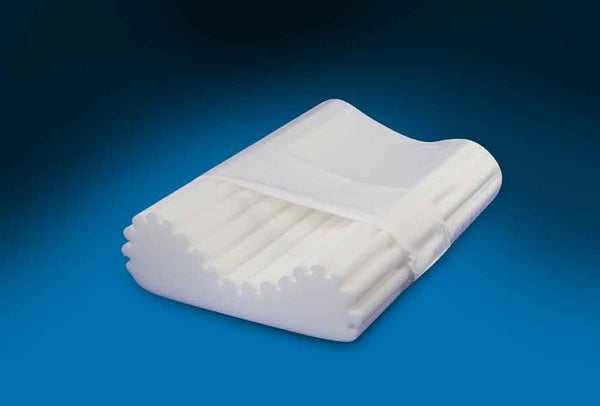 DSM Foam Ribbed Cervical Pillow