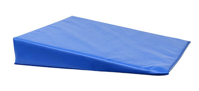 CanDo® Positioning Wedge - Foam with vinyl cover - Medium Firm - 20 x 22 x 4 inch - Specify Color